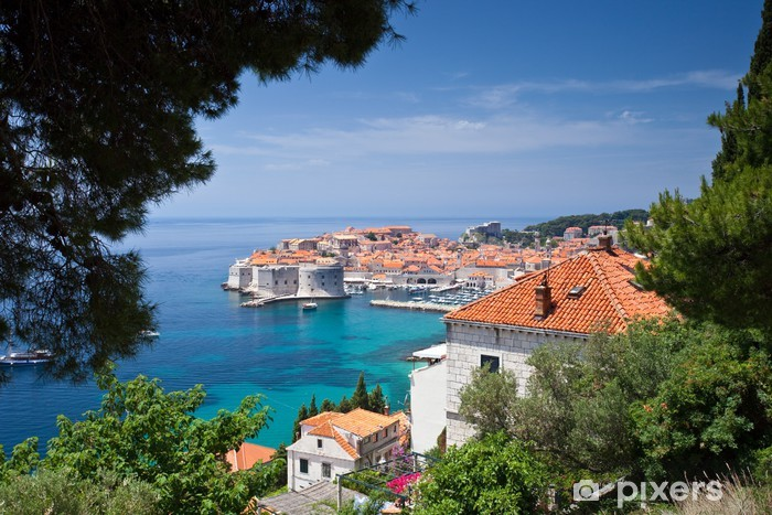 Vinyl Fotobehang Dubrovnik Old Town - Thema's