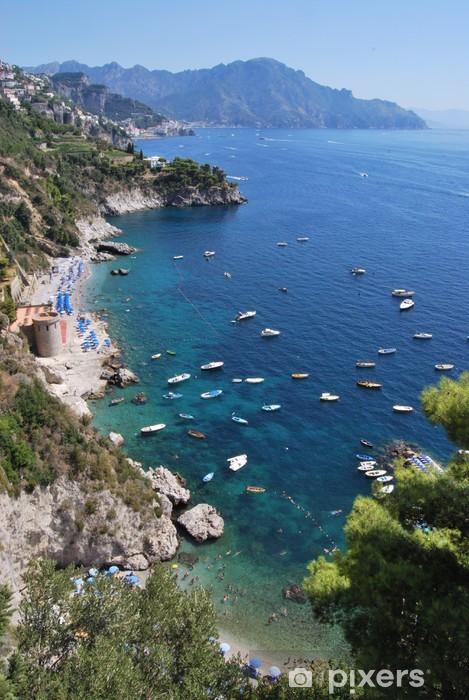 Vinyl Fotobehang Conca dei Marini - Amalfi Coast - Europa