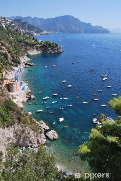 Fototapeta winylowa Conca dei Marini - Wybrzeże Amalfi - Europa