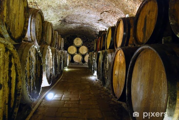 Fototapeta winylowa Piwnica na wino - Budynki przemysłowe i handlowe