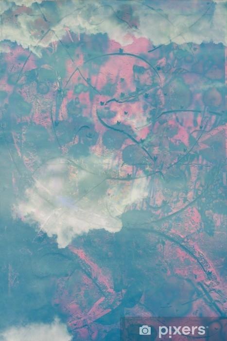 Papier peint vinyle Beaux milieux avec des nuages - Paysages