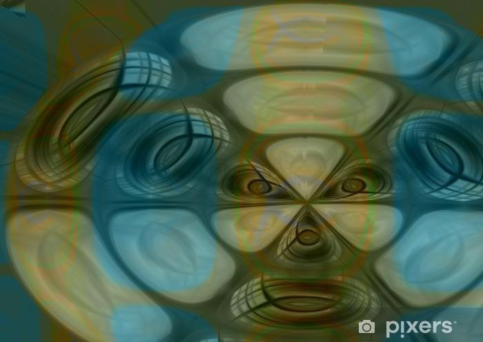 Naklejka Pixerstick Abstrakcyjny wzór - Tła