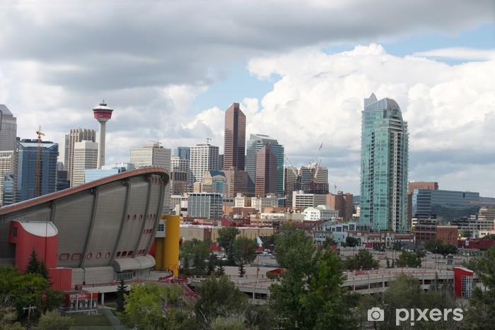Sticker Pixerstick Immeubles de bureaux à Calgary - Amérique