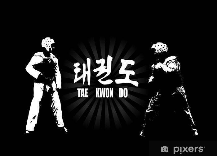 Fototapet av Vinyl Taekwondoen - Teman