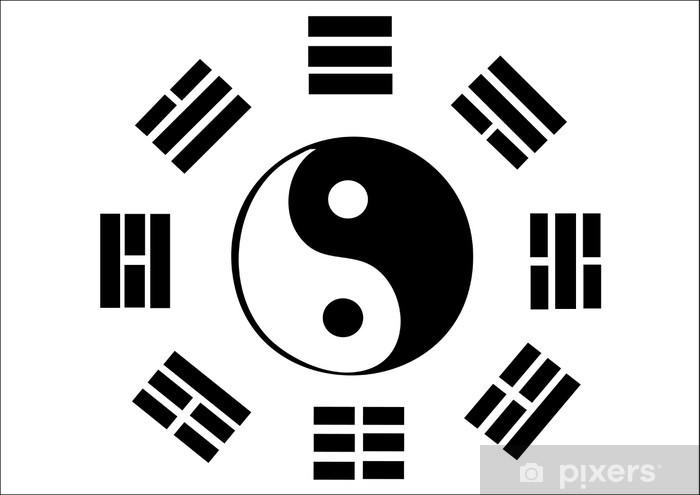 Naklejka Pixerstick Poomse symbol - Sporty ekstremalne