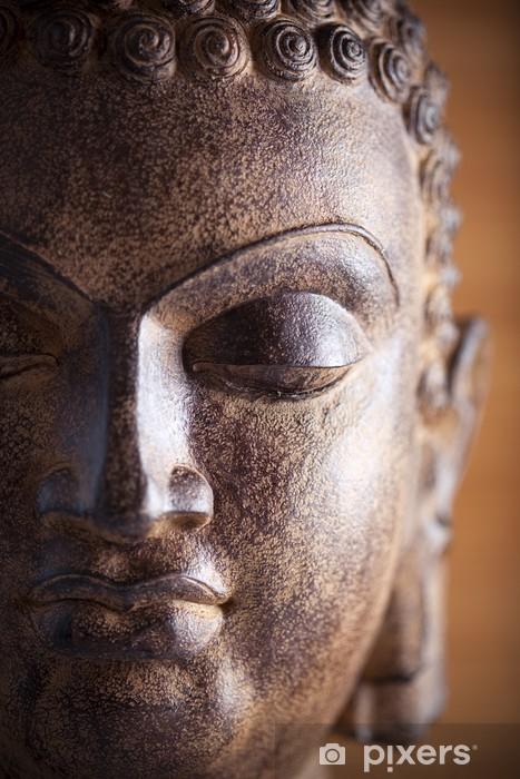 Papier peint vinyle Statue de Bouddha - Thèmes