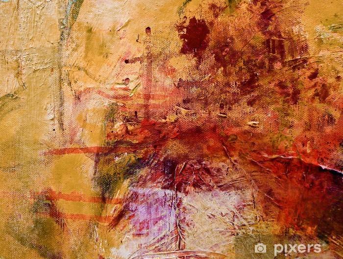 Papier Peint Peinture Acrylique Abstraite Expressionniste Pixers