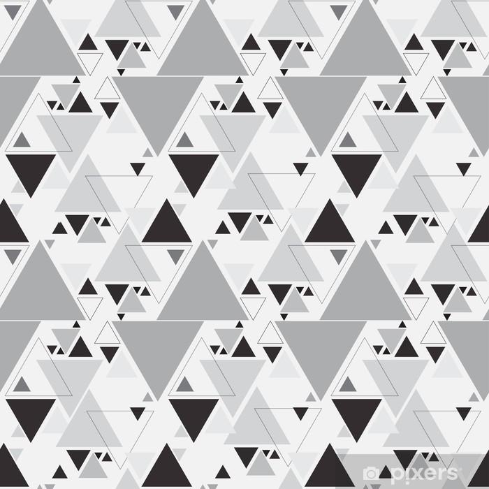 Nahtlose Dreieck Muster Hintergrund Fototapete 6