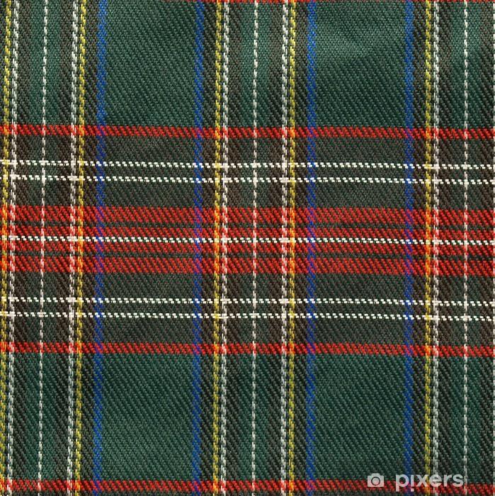 Vinylová fototapeta Původní skotský tartan textury na pozadí - Vinylová fototapeta