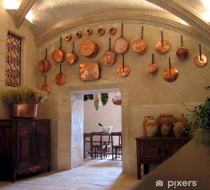 Medieval Kitchen Wall Mural Vinyl