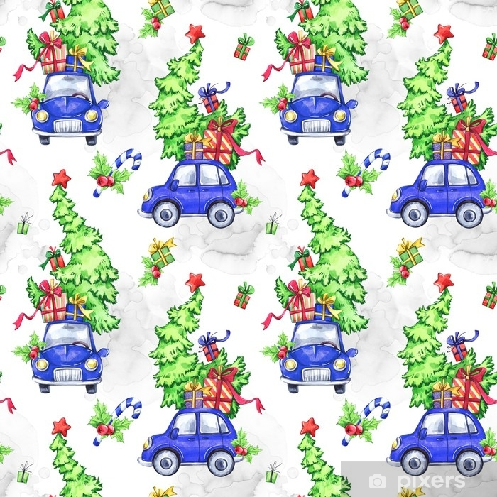 Watercolor Seamless Pattern With Cartoon Holidays Cars Trees And Gifts New Year Celebration Illustration Merry Christmas Can Be Use In Winter Holidays Design Posters Cards Poster Pixers We Live To Change Polish your personal project or design with these cartoon christmas tree transparent png images, make it even more personalized and more attractive. watercolor seamless pattern with cartoon holidays cars trees and gifts new year celebration illustration merry christmas can be use in winter holidays design posters cards poster pixers we live to change