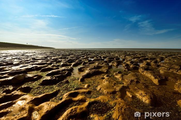 Nálepka Pixerstick Wadden moře v Moddergat, Nizozemí - Přírodní krásy