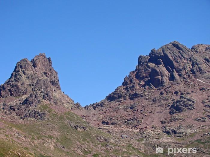 Fototapeta winylowa Korsykański: Paglia Orba i capu Tafunatu na GR20 - Europa