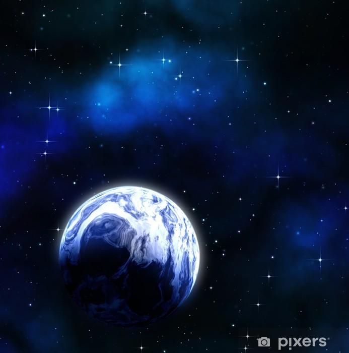 Vinylová fototapeta Planet ve vesmíru - Vinylová fototapeta