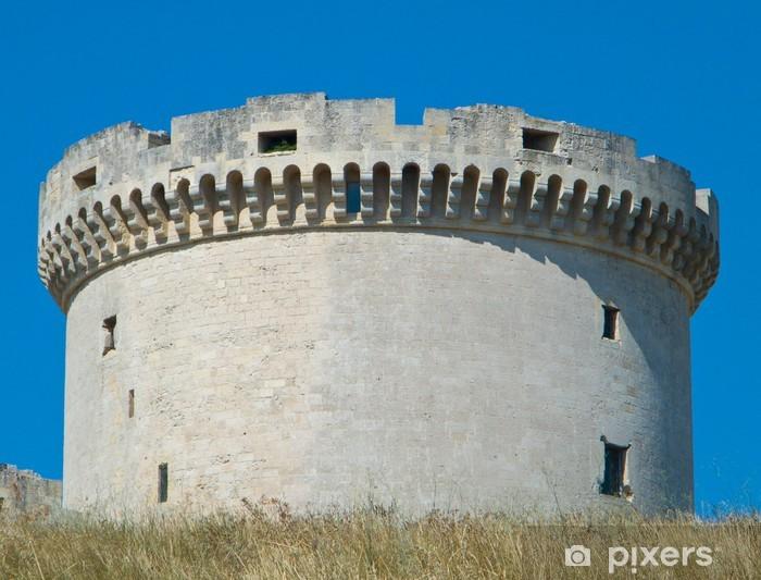 Vinyl-Fototapete Die Tramontano Castle. Matera. Basilicata. - Urlaub