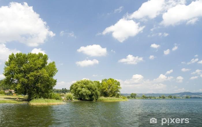 Vinylová fototapeta Lago di Bolsena - Vinylová fototapeta