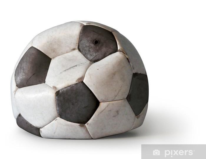 Fototapeta winylowa Piłka nożna bez powietrza - Artykuły sportowe