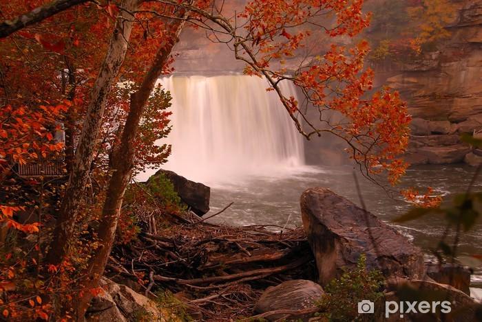 Naklejka Pixerstick Niagara z południa - Woda