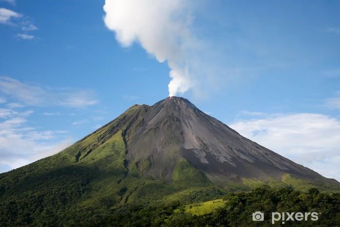 Adesivo Pixerstick Arenal Volcano in Costa Rica - America