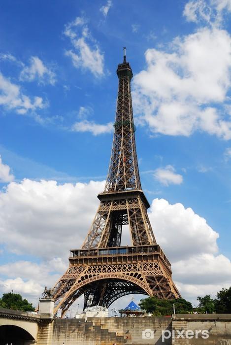 Vinyl-Fototapete Eiffelturm - Europa