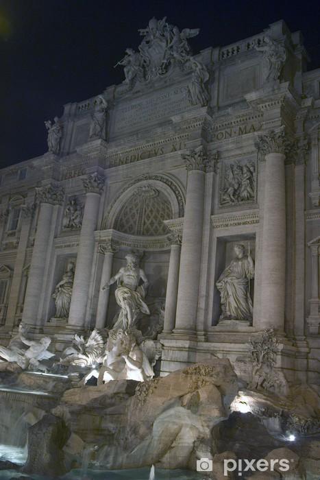 Fotomural Estándar La Fontana de Trevi. Roma, Italia. - Monumentos