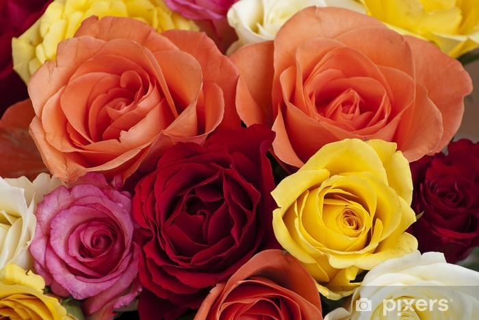Carta da Parati in Vinile Bunte Rosen - Celebrazioni