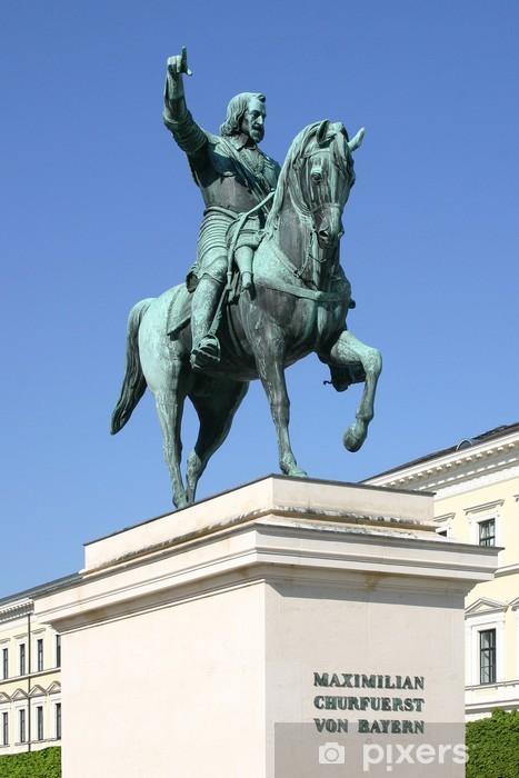 Fototapete Reiterdenkmal Maximilian von Bayern in München