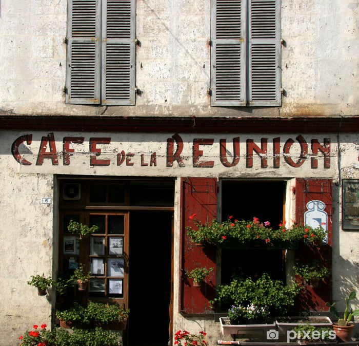 french cafe Poster - Themes