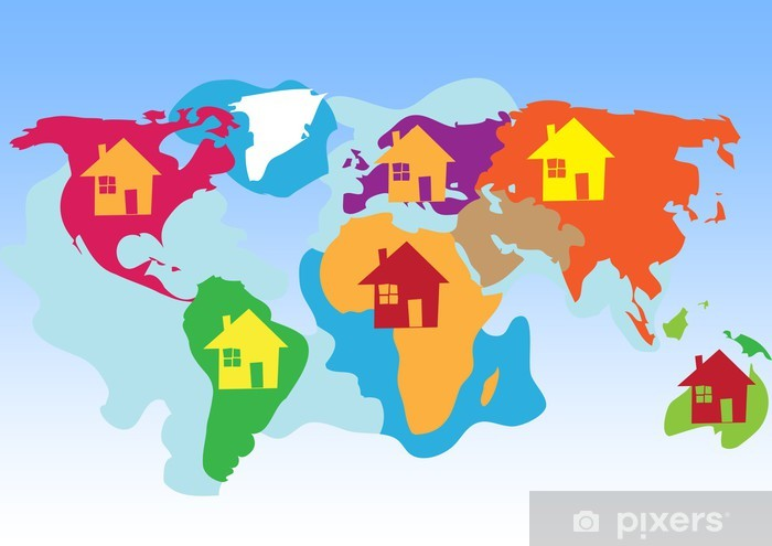 Children S Map Of The World on