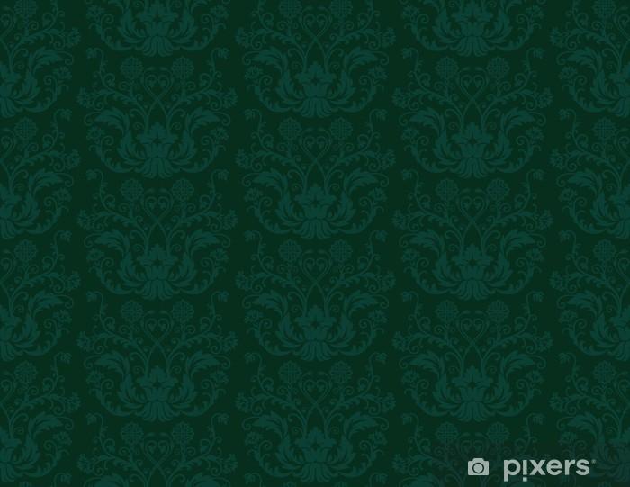 Papier Peint Seamless Papier Peint Vintage Vert Pixers Nous