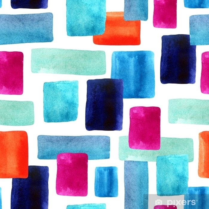 Plakat Akwarela prostokąty z bacground tekstury papieru. - Zasoby graficzne