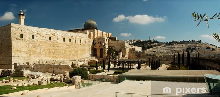 Pixerstick Sticker Al Aqsa moskee - Midden Oosten
