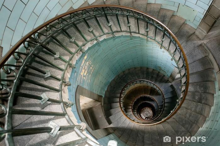 Fototapeta winylowa Ślimak latarni schody - Tematy