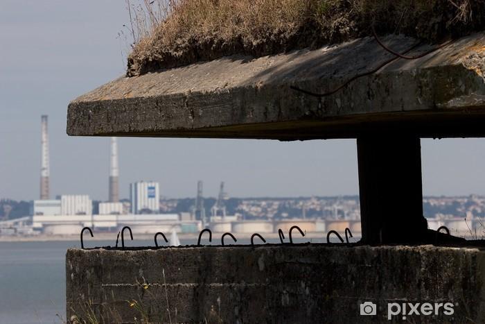 Fototapeta winylowa Atlantikwall le havre - Życie