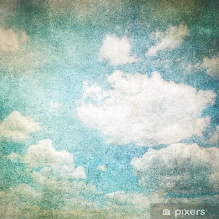 Fototapeta winylowa Retro obraz pochmurnego nieba - Zasoby graficzne