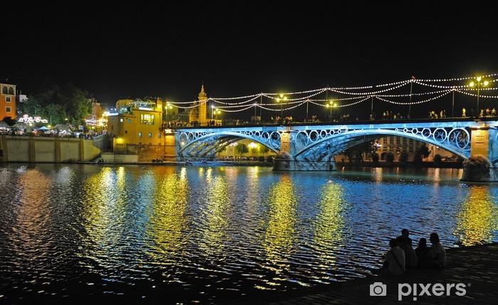 Autocolante Pixerstick Triana bridge, Seville, Spain - Temas