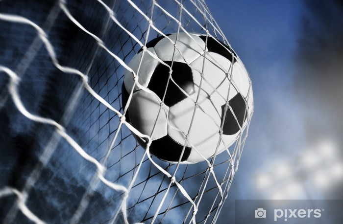 Fototapeta samoprzylepna Piłka nożna - iStaging