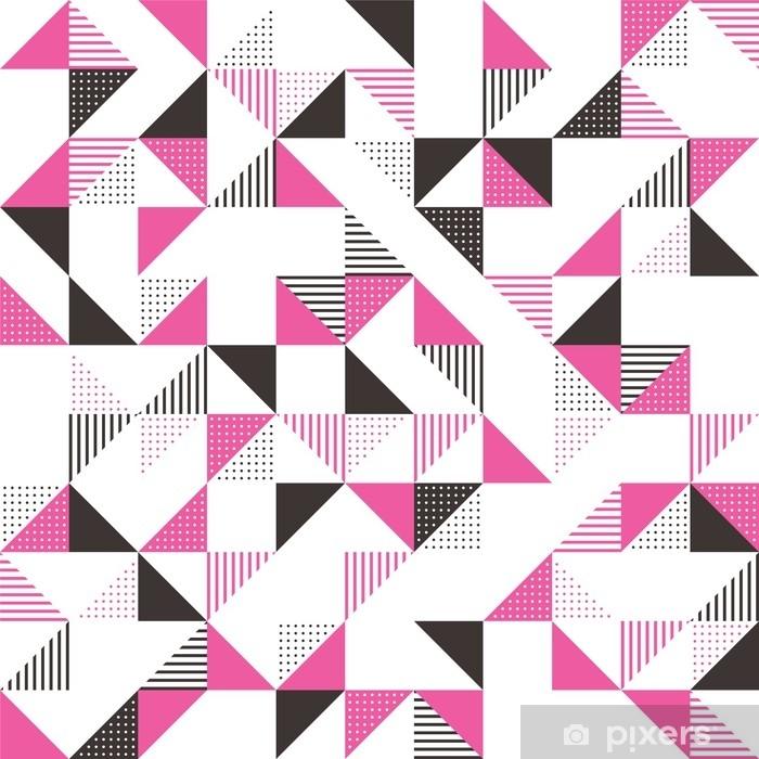 Papier Peint Un Fond Geometrique Rose Et Gris Pixers Nous