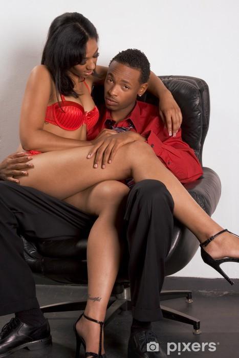 Murzyn z kobietą płci cipki niewolnik porno