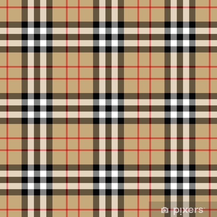 Tartan Traditional Checkered British Fabric Seamless Pattern Wall Mural Pixers We Live To Change