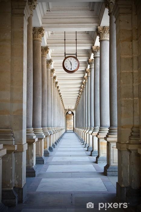 Fototapeta winylowa Klasyczny styl kolumnada w Karlowe Wary, Republika Czeska - Praga