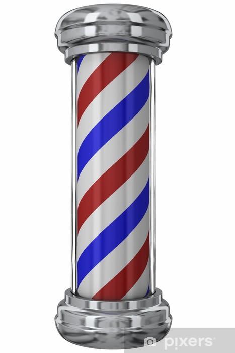 Papier peint vinyle Classic Barber Pole - Signes et symboles