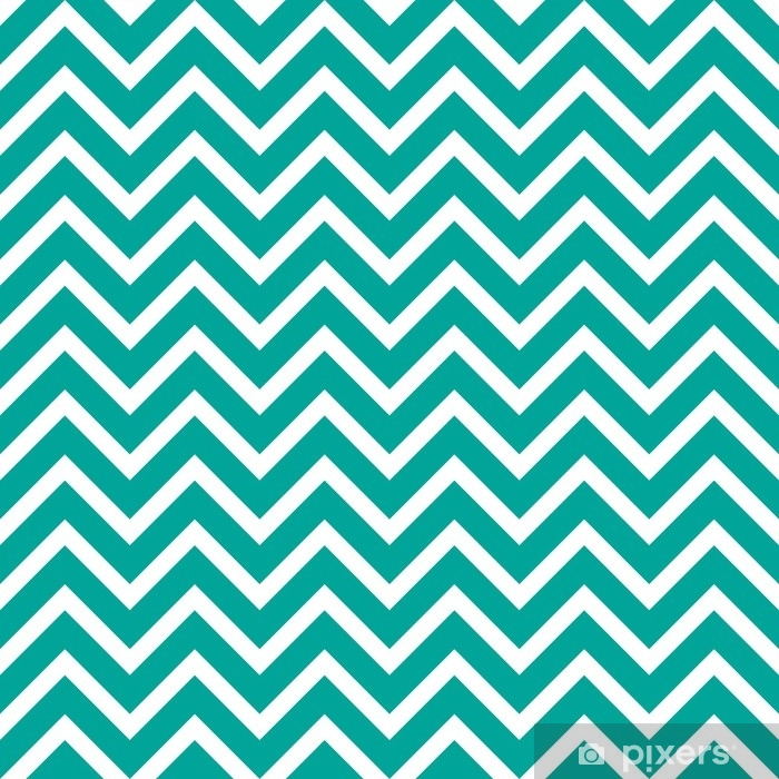 Seamless vector pattern with zigzag Vinyl Wall Mural - Graphic Resources