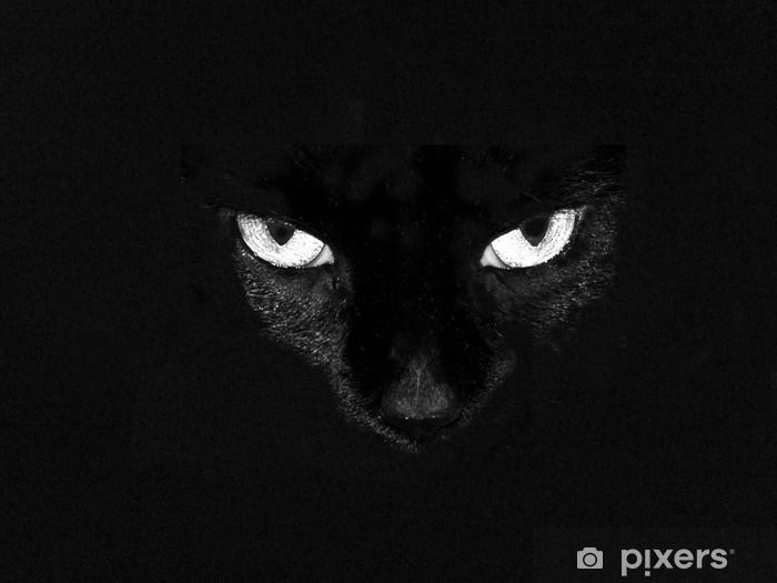 Dizüstü Bilgisayar Çıkartması Siyah kedi gözleri - Memeliler