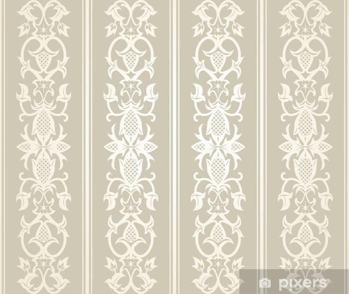 Seamless Wallpaper Pattern Pixerstick Sticker - Graphic Resources