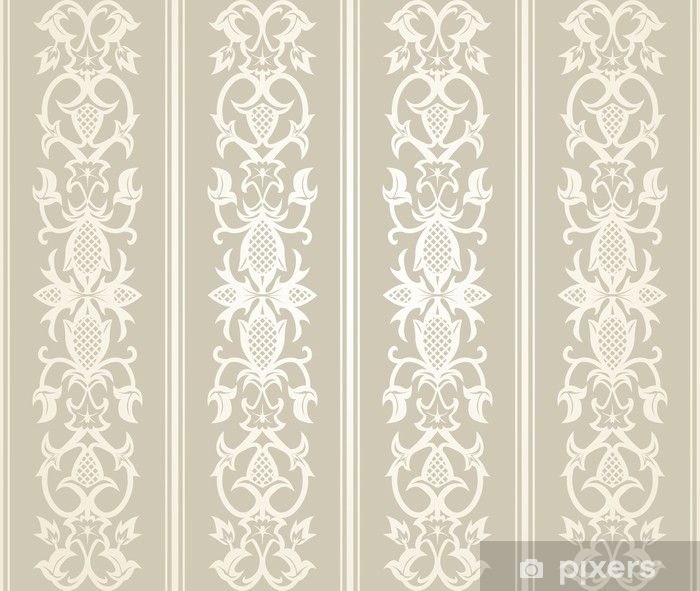Seamless Wallpaper Pattern Vinyl Wall Mural - Graphic Resources
