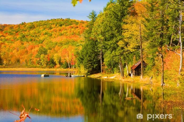 Fototapeta winylowa Ateny staw - Vermont - Krajobraz wiejski