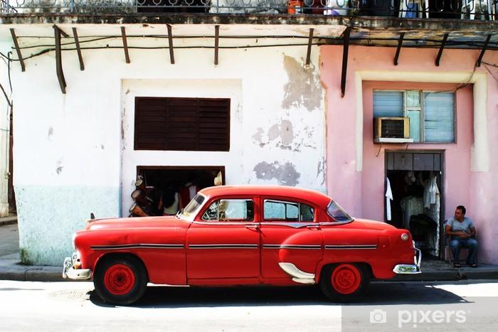 Fotomural Estándar Havana coche - Cuba