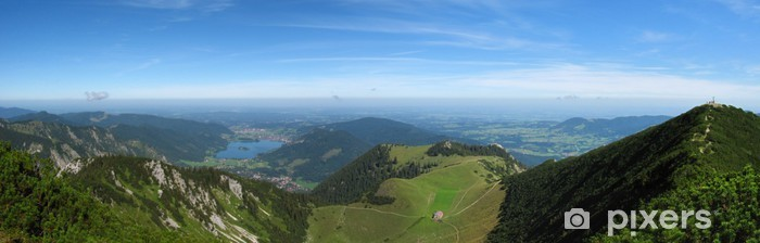 Fototapeta winylowa Schliersee górskie panoramy - Góry