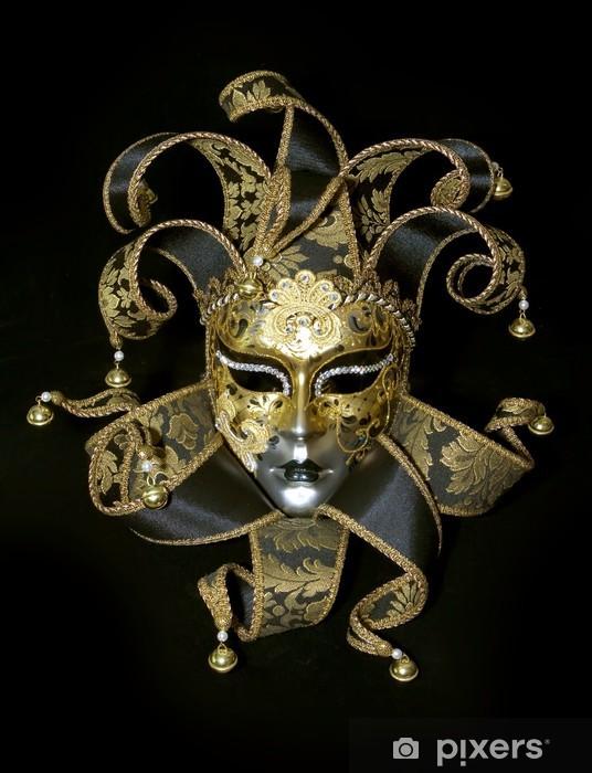 Zelfklevend Fotobehang Venetiaans masker - Europese steden